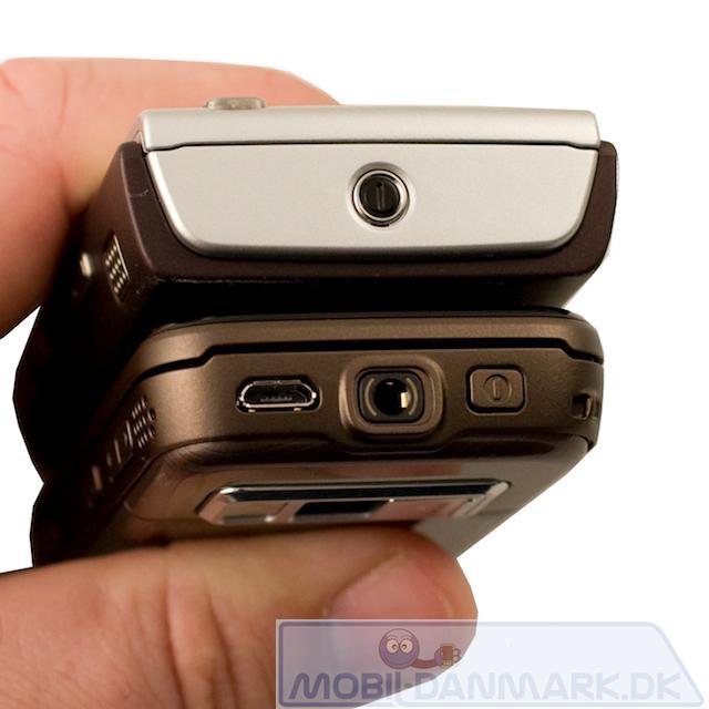 Nokia N95 og N85 set fra toppen