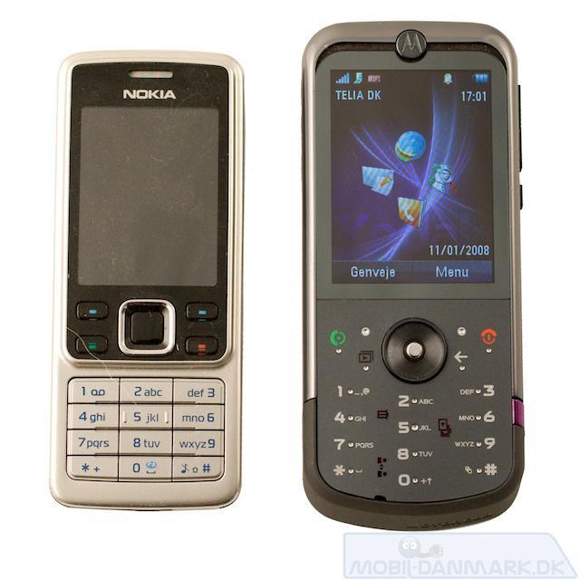 ZN5 ved siden af Nokia 6300