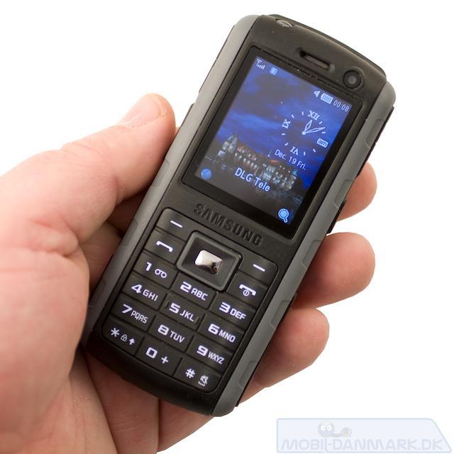 B2700 er en ganske lækker telefon i hånden