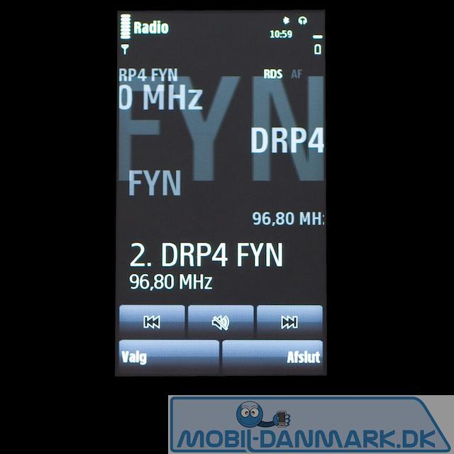 Den fine FM-radio med RDS