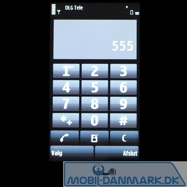Nummerisk tastatur med fine store knapper