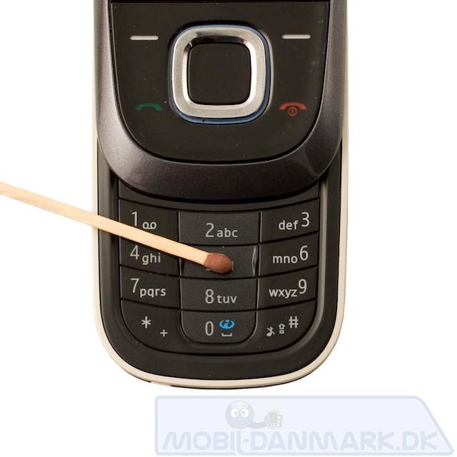 Fin og fiks lille telefon