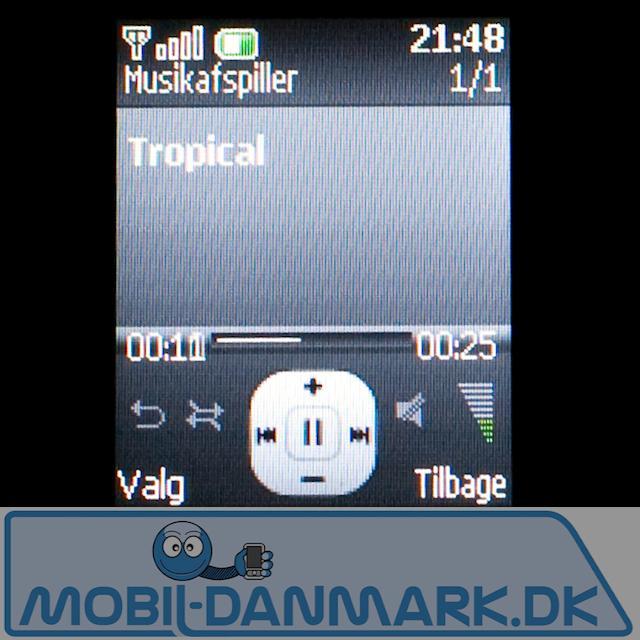 MP3-afspiller, der med 32MB ikke er videre brugbar