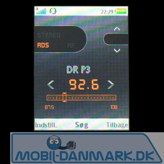 Fin FM-radio med RDS