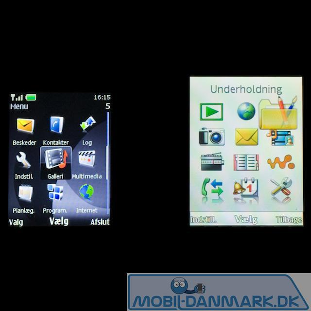 Her ses Nokia 6500's 2