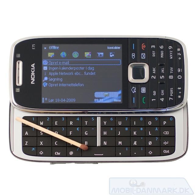Nokia E75 test
