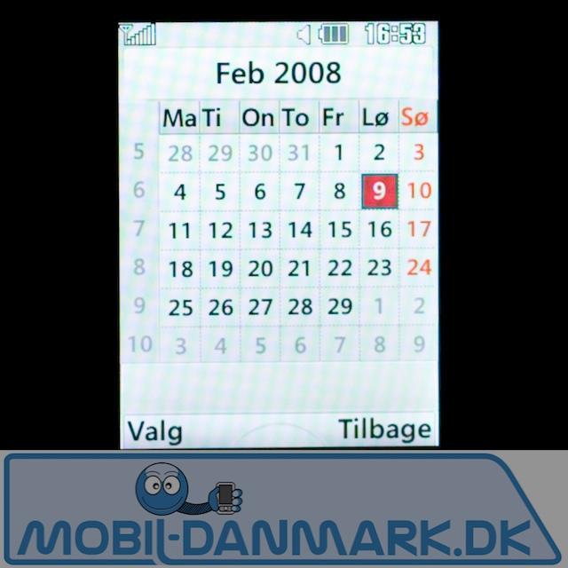 Fin kalender
