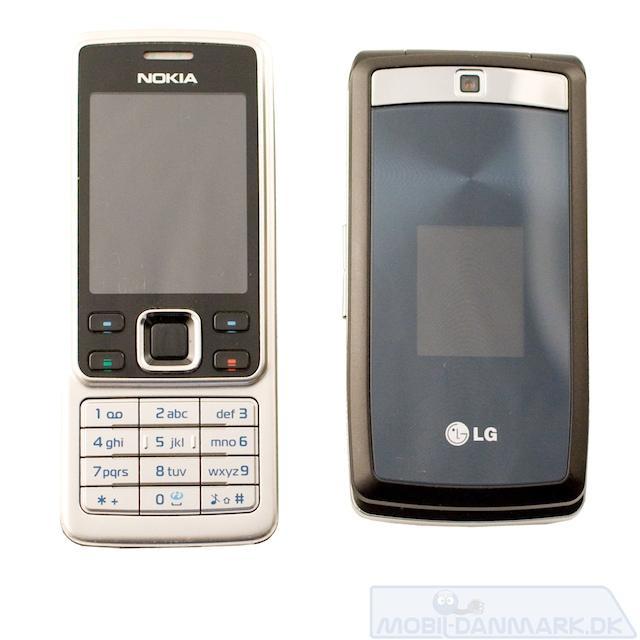 KF300 ved siden af Nokia 6300