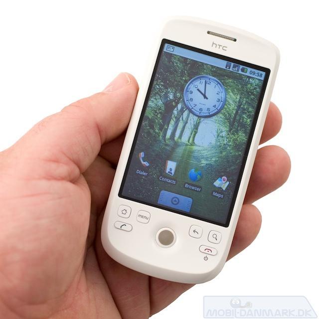 HTC Magic - en fiks telefon med et super styresystem