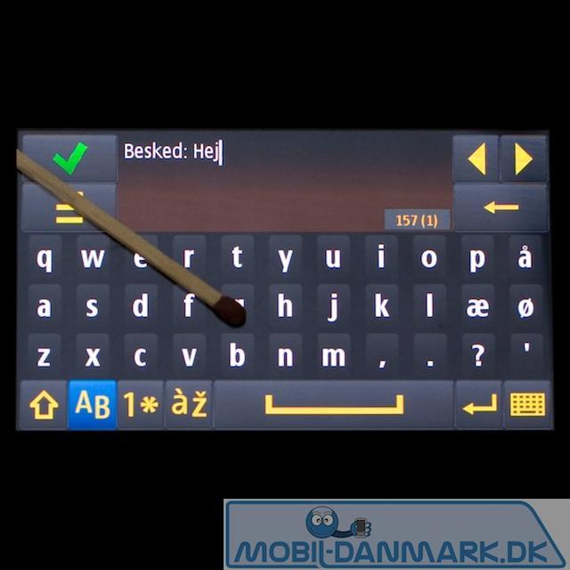 Fuldt QWERTY-tastatur med Æ, Ø og Å