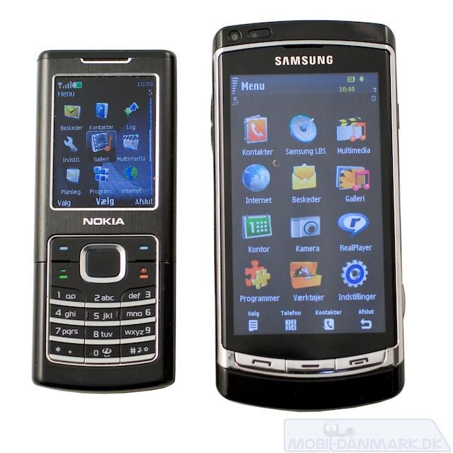 Omnia HD er ikke en lille telefon