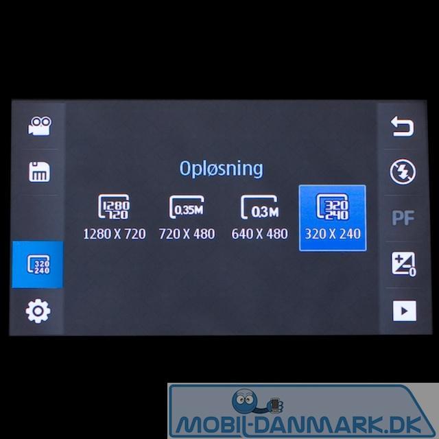 Videodelen med HD videokvalitet