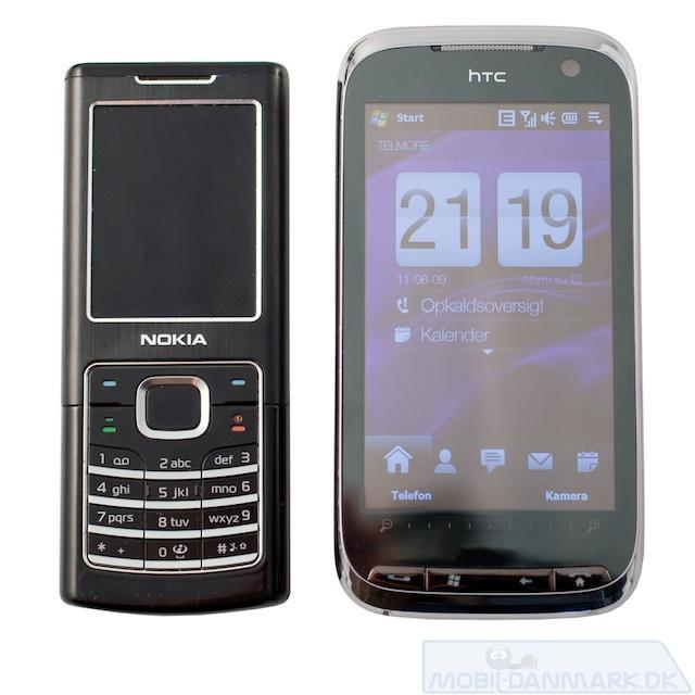 Nokia 6500 Classic ved siden af Pro 2