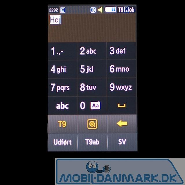 Virtuelt skrive tastatur