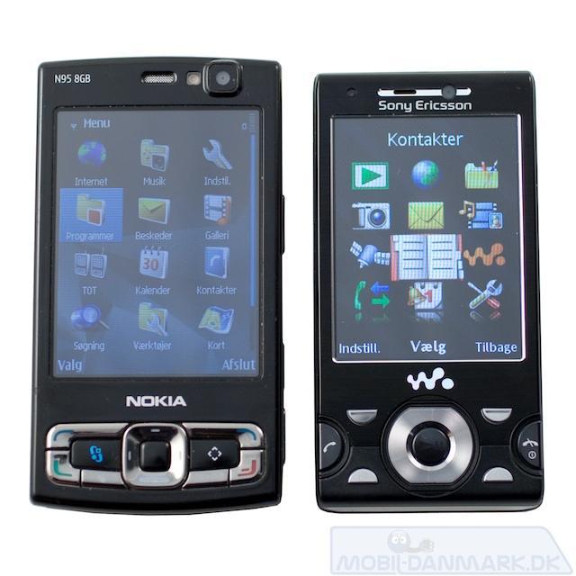 W995 bringer minder frem om Nokia N95 8GB