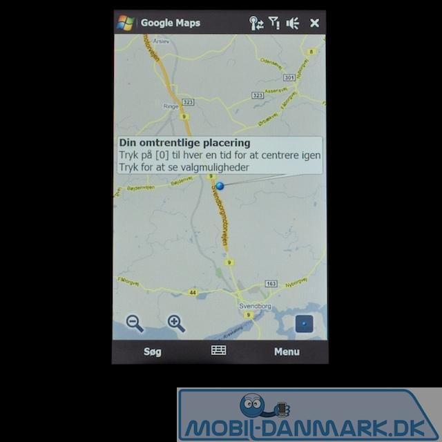 GPS med Google Maps