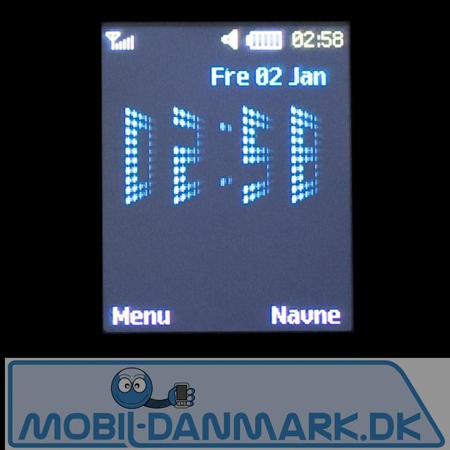 STandbyskærmen med smart ur