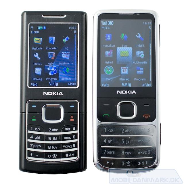 Nokia 6500 ved siden af 6700