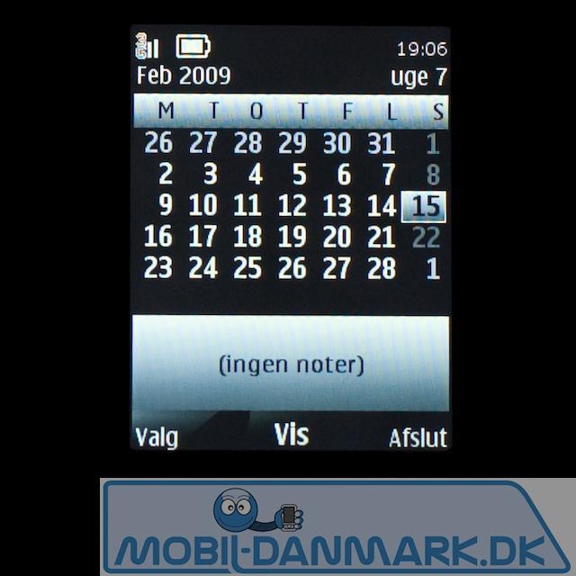 Kalenderen er også udmærket