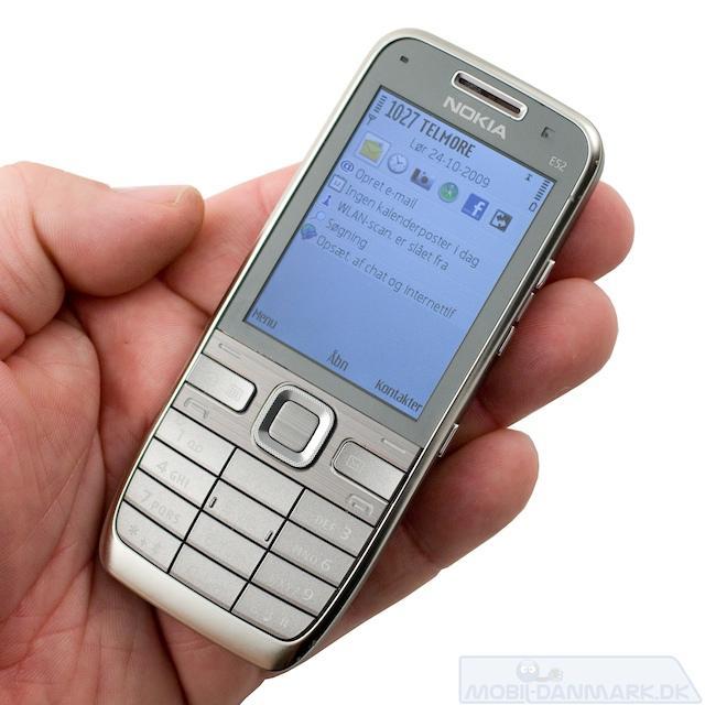 Nokia E52 er en rigtig super telefon