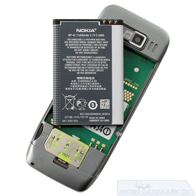 Batteriet fylder meget i forhold til telefonen