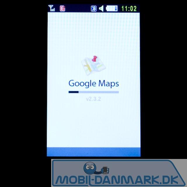 Google Maps starter fint hurtigt op med god netforbindelse