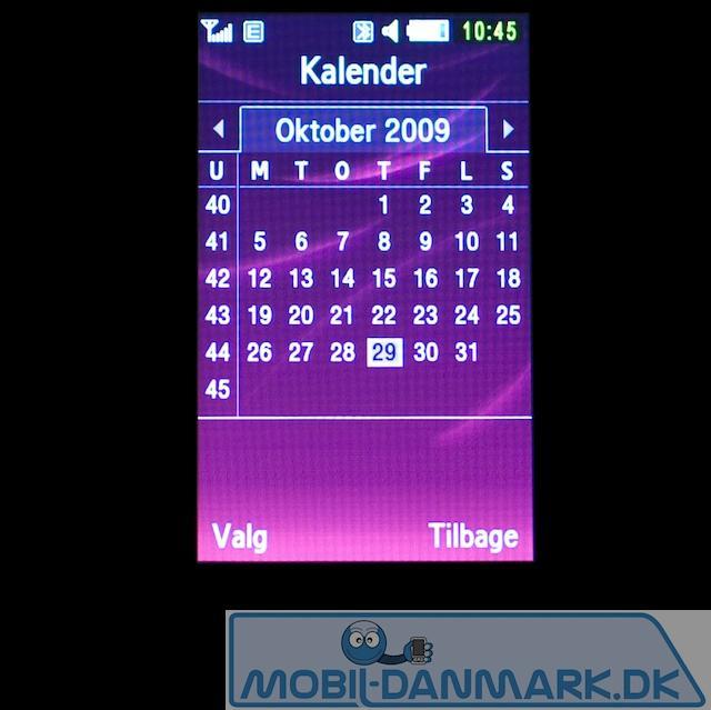Kalenderoversigten