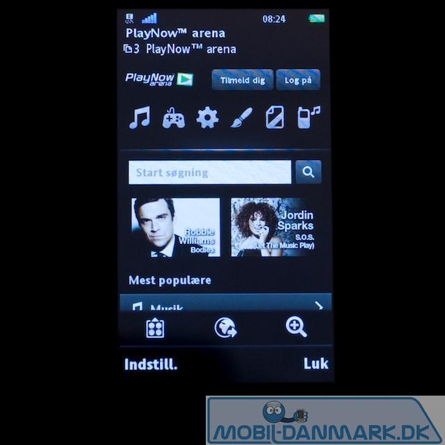 Playnow fra Sony Ericsson - en god tjeneste
