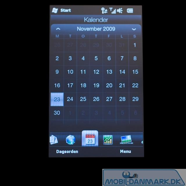 Fin kalender i TouchFLO