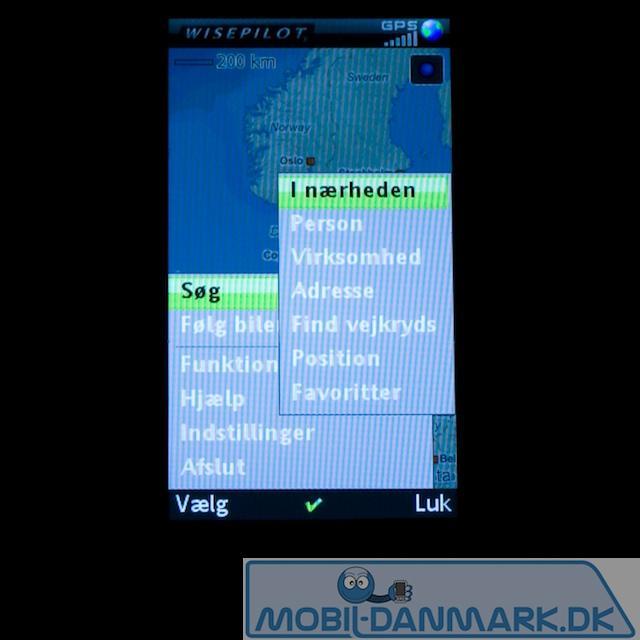 GPS-muligheder