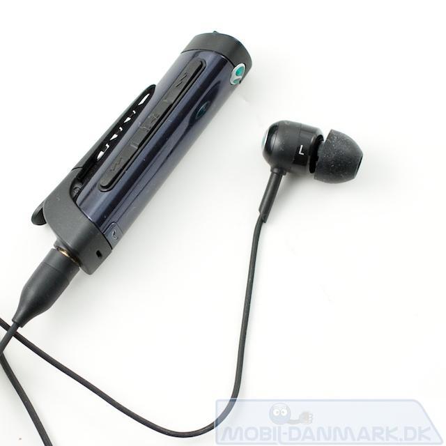 Bluetooth-headsettet er ganske lækkert