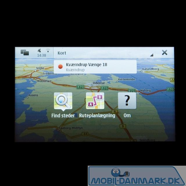 GPS med OVI maps