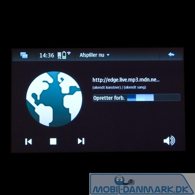 Netradio med 46 præinstallerede stationer