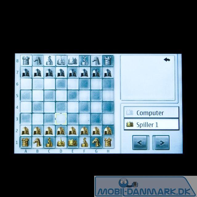 Et skakspil findes der også