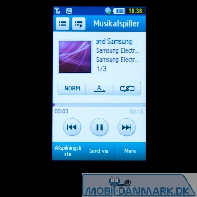 Klassisk Samsung-musikafspiller