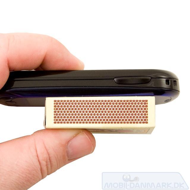 S7550 er ikke den tyndste pda-telefon