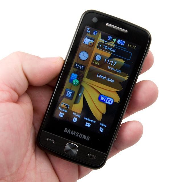 Kanonflot skærm i en fornuftig størrelse telefon
