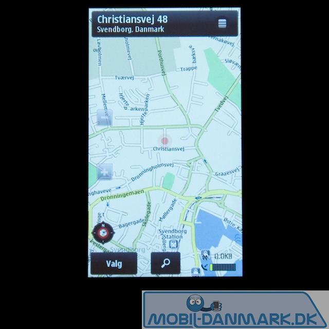 GPS-kort fra Nokia