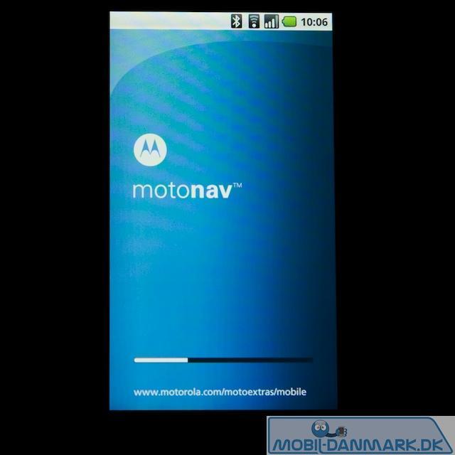 Motorolas eget navigationssystem