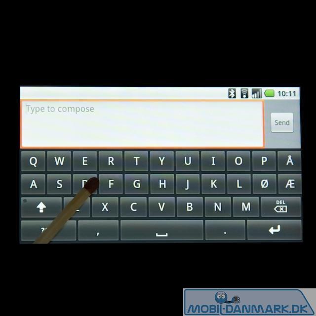 Noget bedre tastatur i vandret