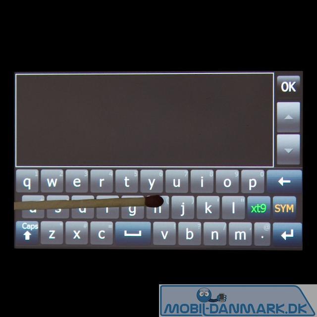 QWERTY-tastatur i vandret