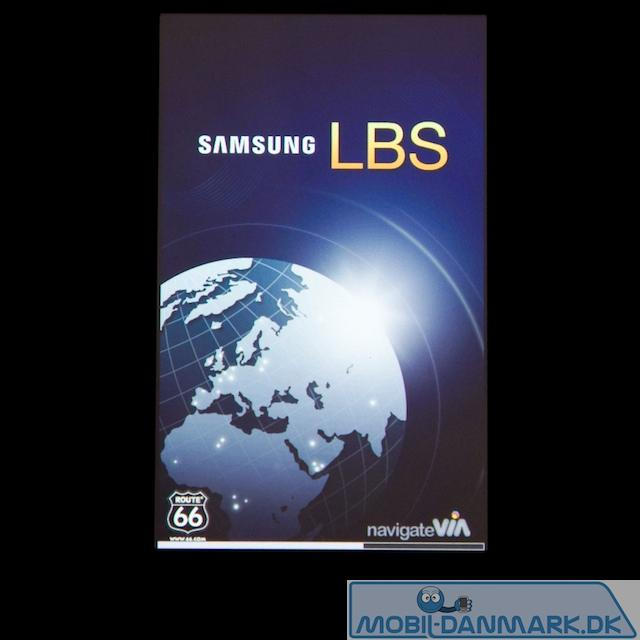 Samsung LBS navigationssoftware