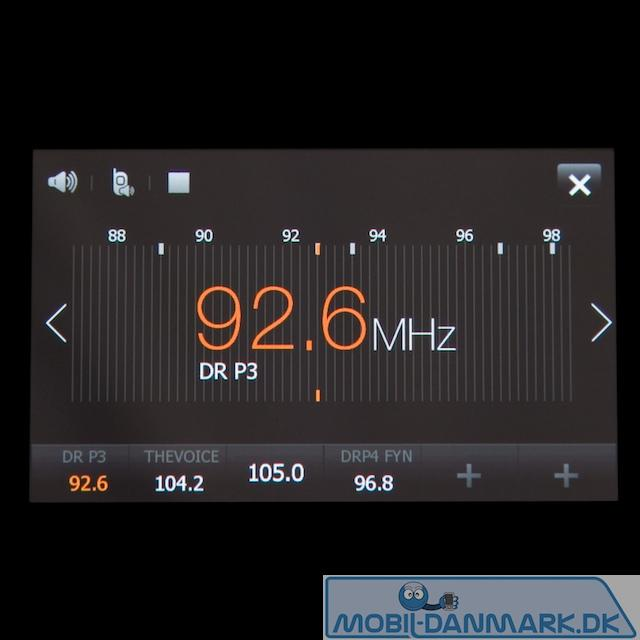 Radio med RDS og fin viuel skala
