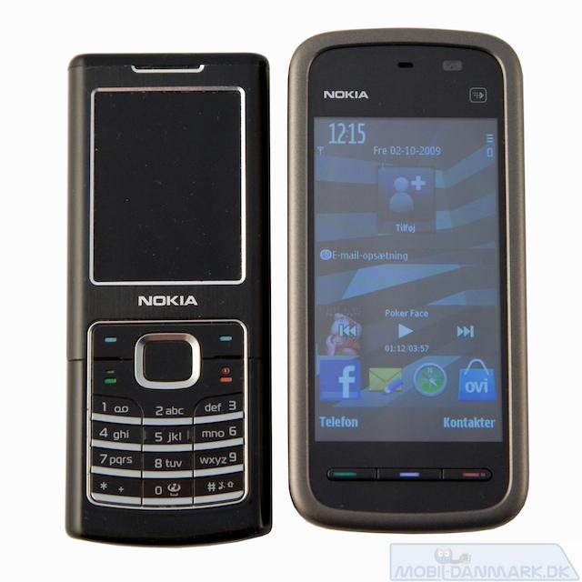 Nokia 6500 Classic og 5230
