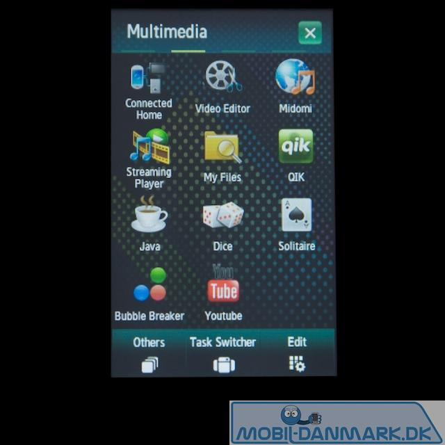 Multimediamenuen