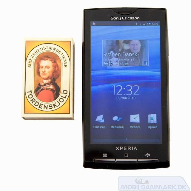 X10 er ingenlunde en lille telefon