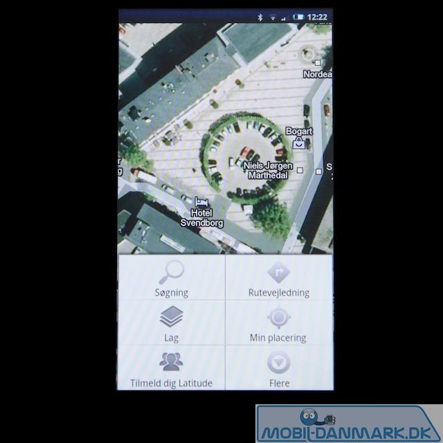 Google Maps-indstillinger