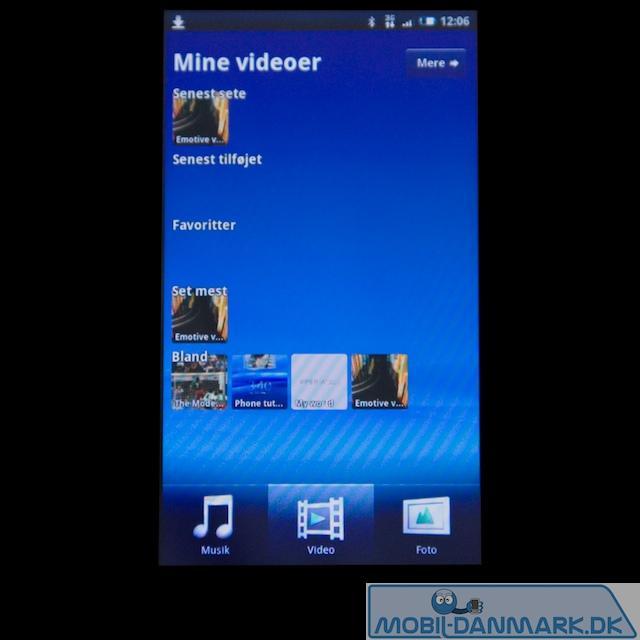 Videooversigten i MediaScape