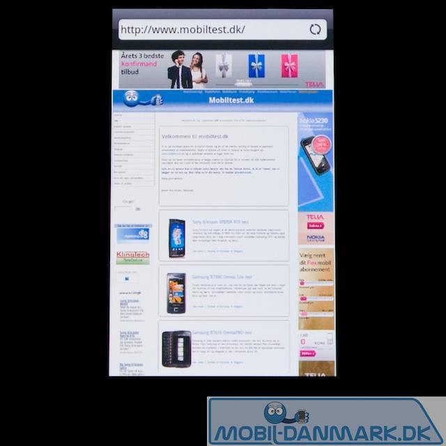 Webside i god browser