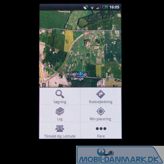 Indstillinger i Google Maps